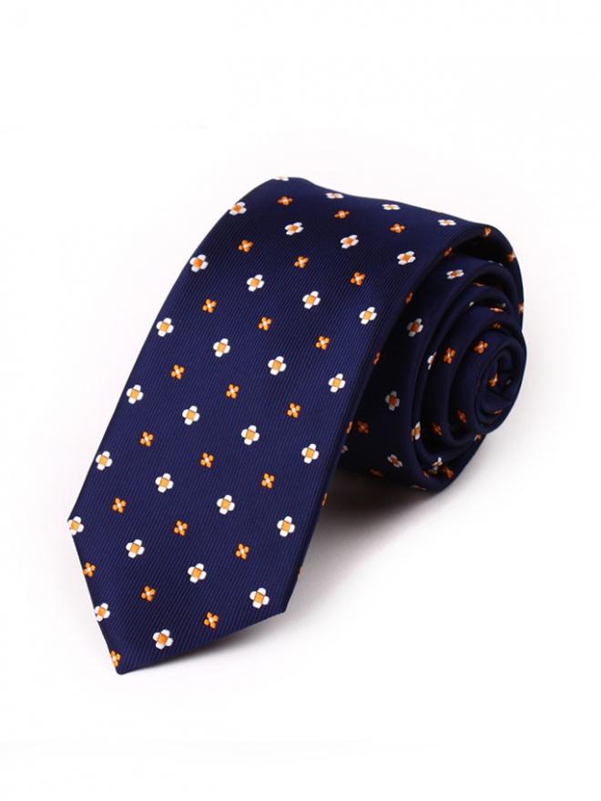 Cà vạt hàn quốc xanh đen cv100 - 1