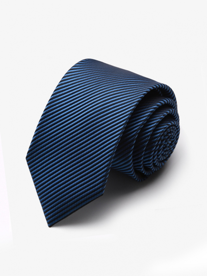 Cà vạt hàn quốc xanh duong cv106 - 1