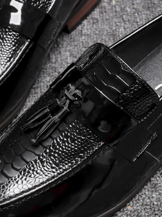 Giày mọi da đen g79 - 2