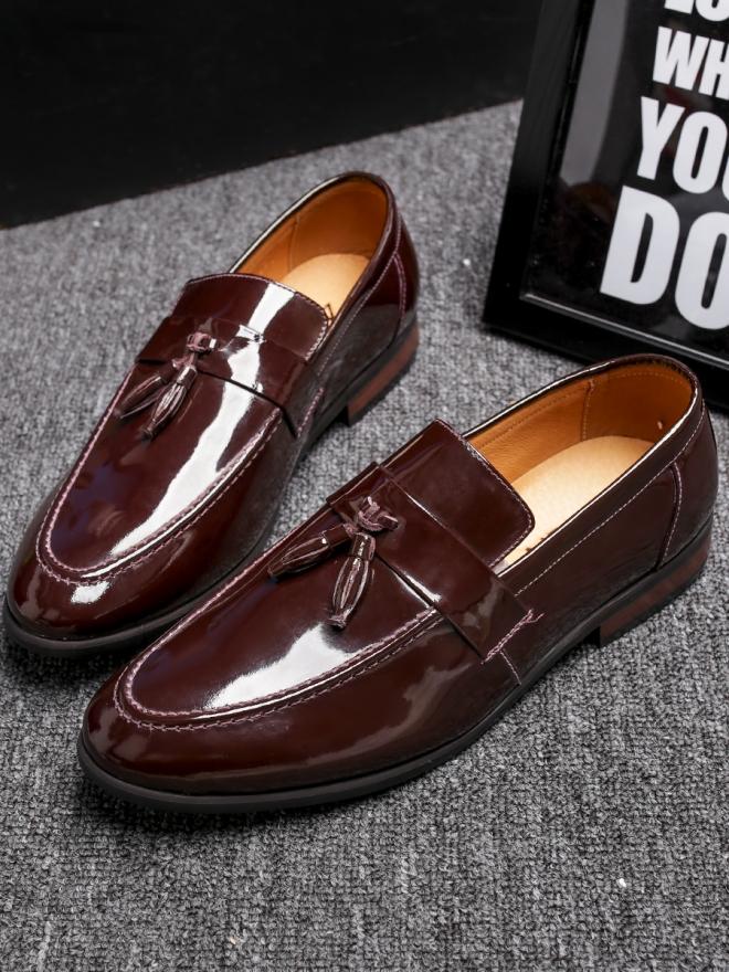 Giày mọi da nâu g81 - 3