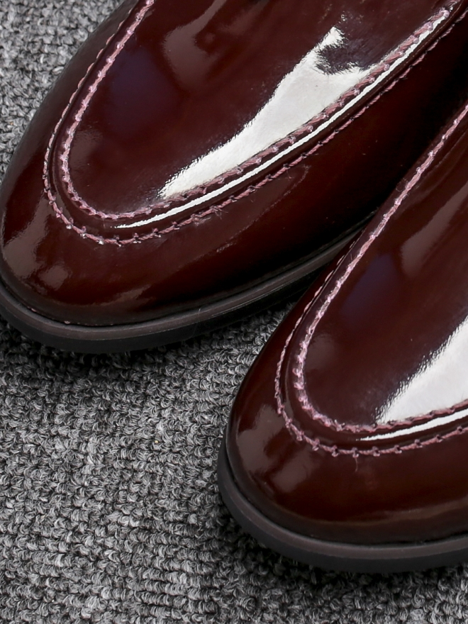 Giày mọi da nâu g81 - 1