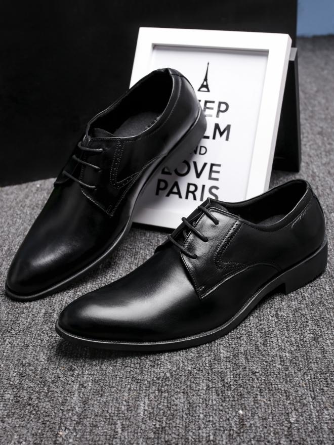 Giày tây da đen g85 - 3