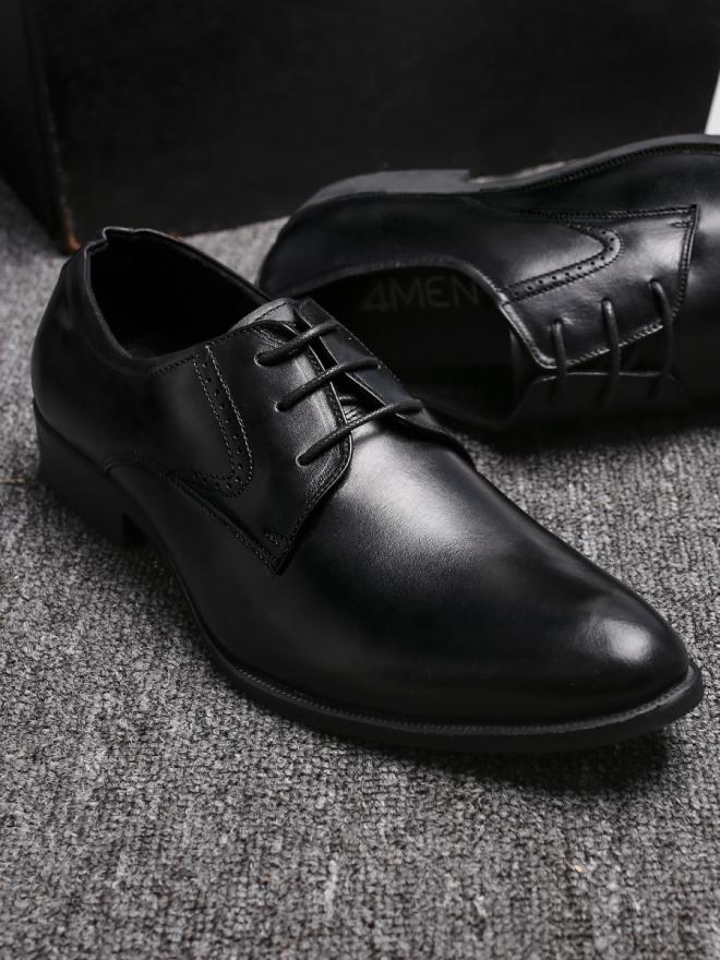 Giày tây da đen g85 - 4