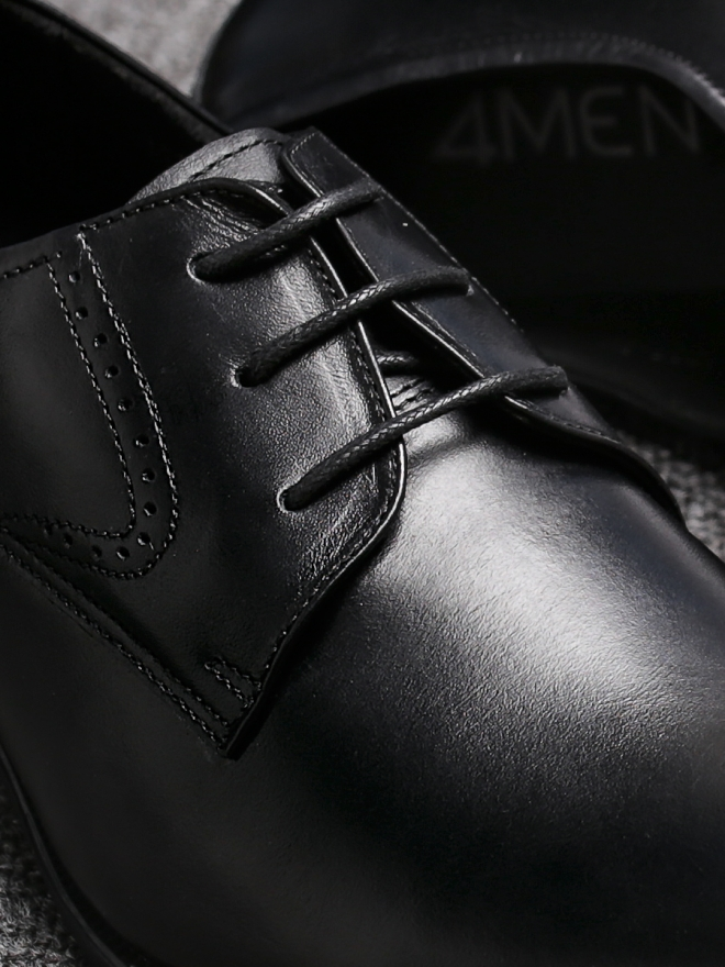 Giày tây da đen g85 - 1
