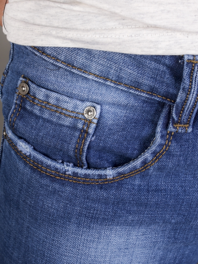 Quần jean rách xanh dương qj1342 - 1