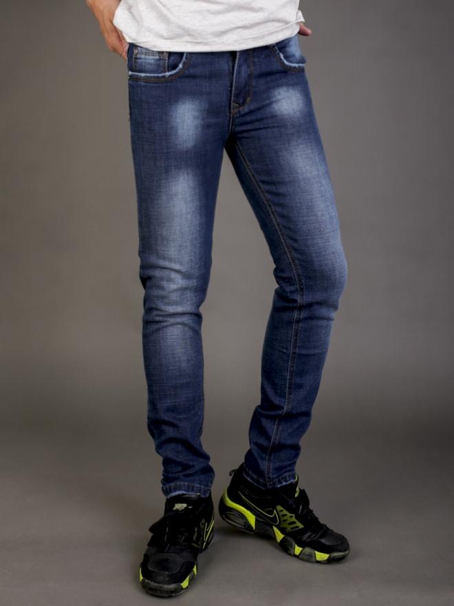 Quần jean skinny xanh đen qj1338 - 4