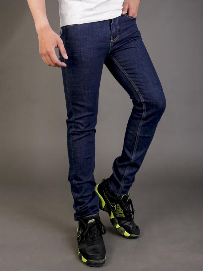 Quần jean skinny xanh đen qj1340 - 4
