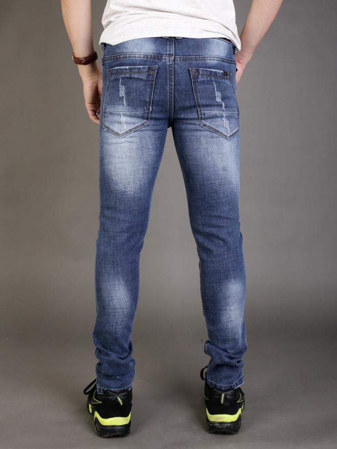 Quần jean skinny xanh dương qj1339 - 3