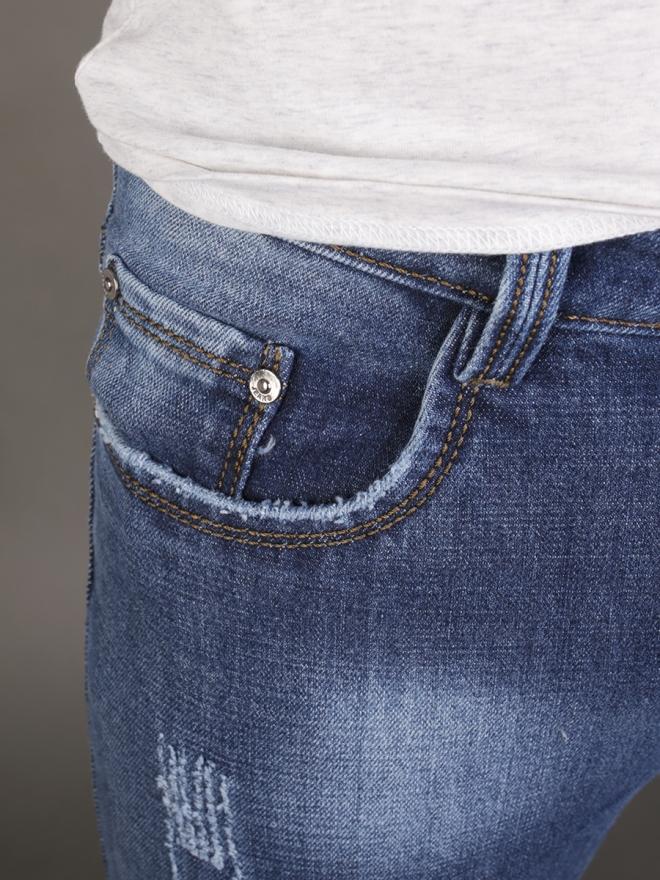 Quần jean skinny xanh dương qj1339 - 1