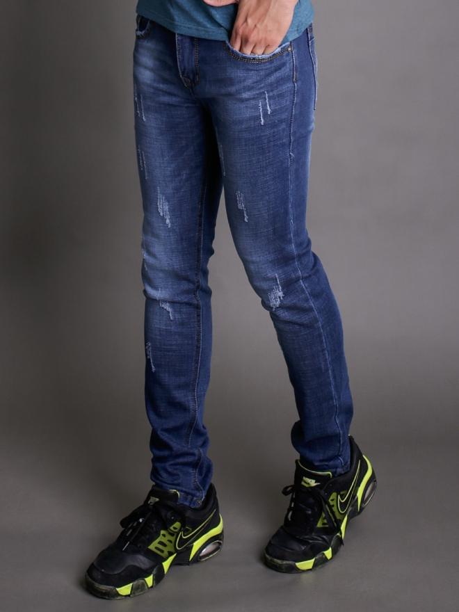 Quần jean skinny xanh dương qj1343 - 1
