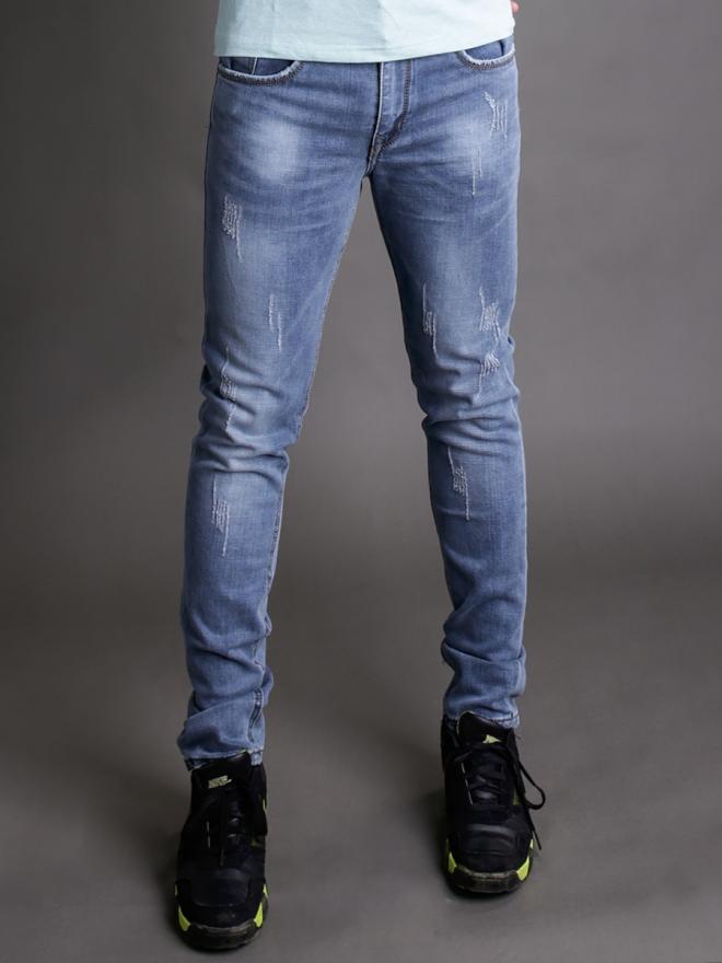 Quần jean skinny xanh dương qj1344 - 2