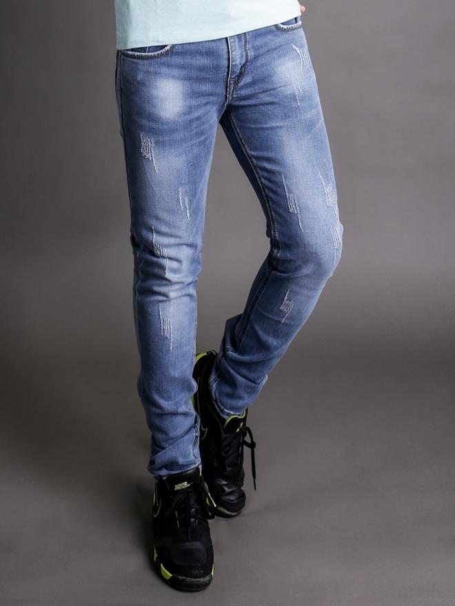 Quần jean skinny xanh dương qj1344 - 1