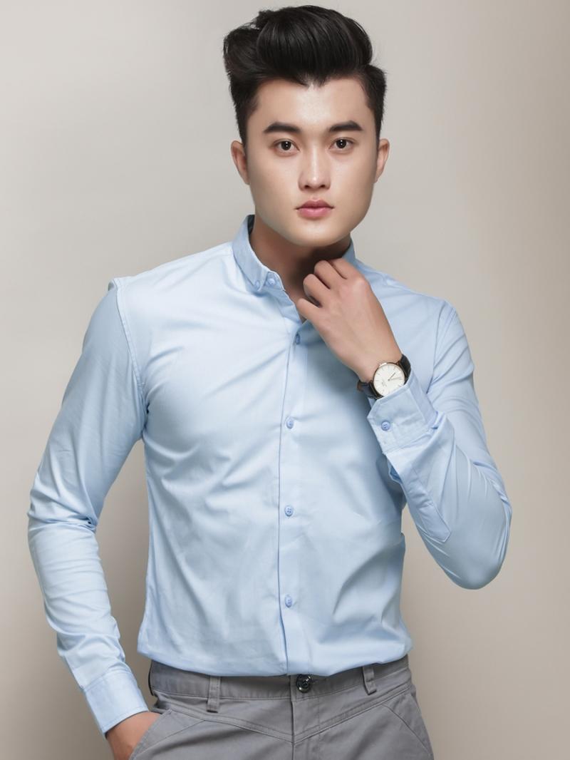 Ao So Mi Nam dep gia re kieu Han Quoc 2018