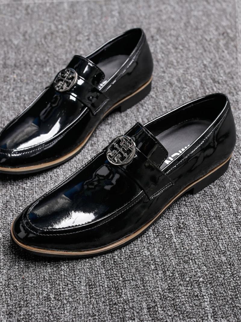 Giày mọi da đen g87 - 2