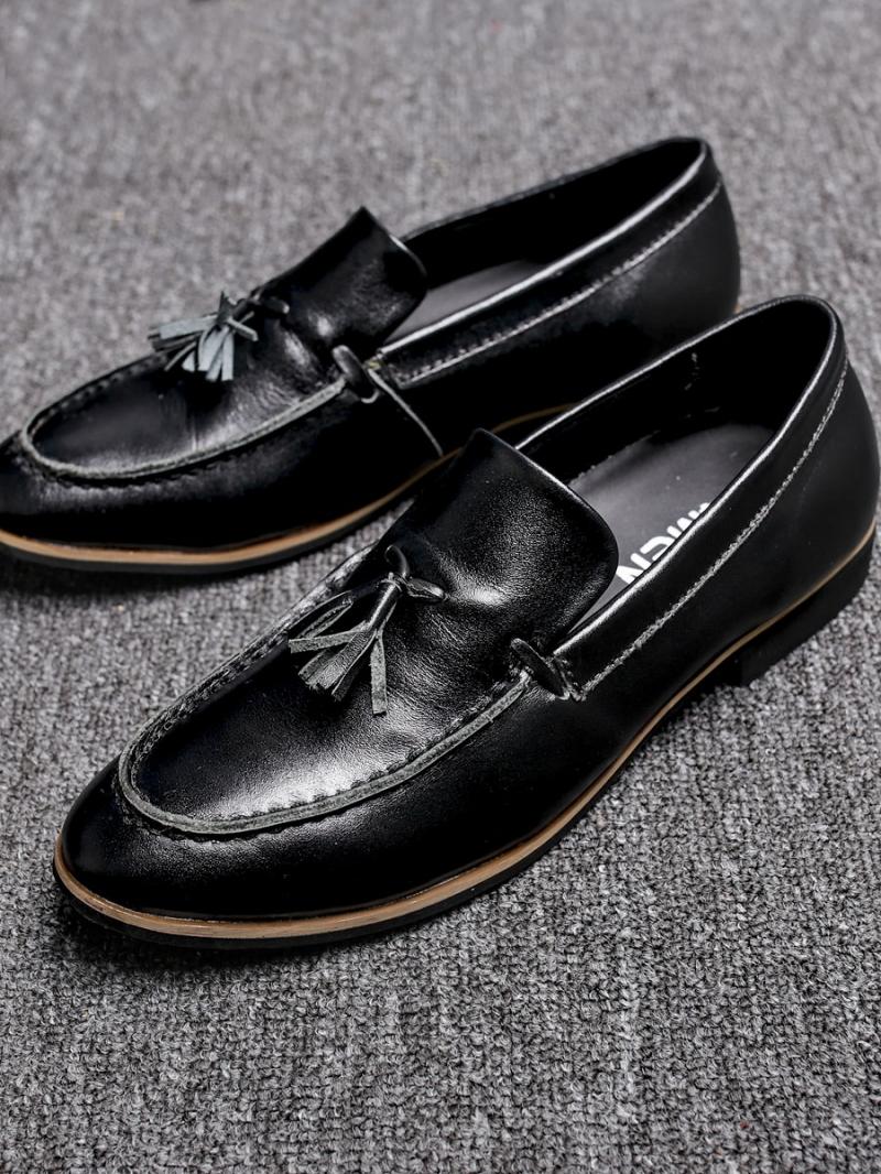 Giày mọi da đen g88 - 1
