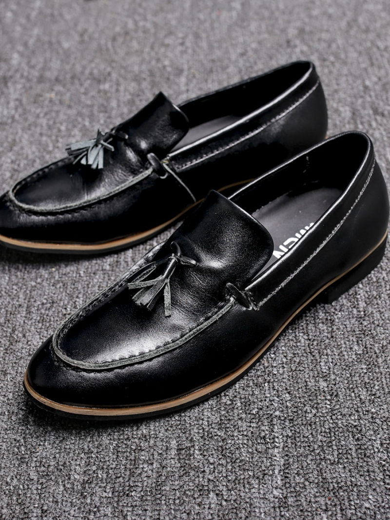 Giày tây da đen g88 - 1