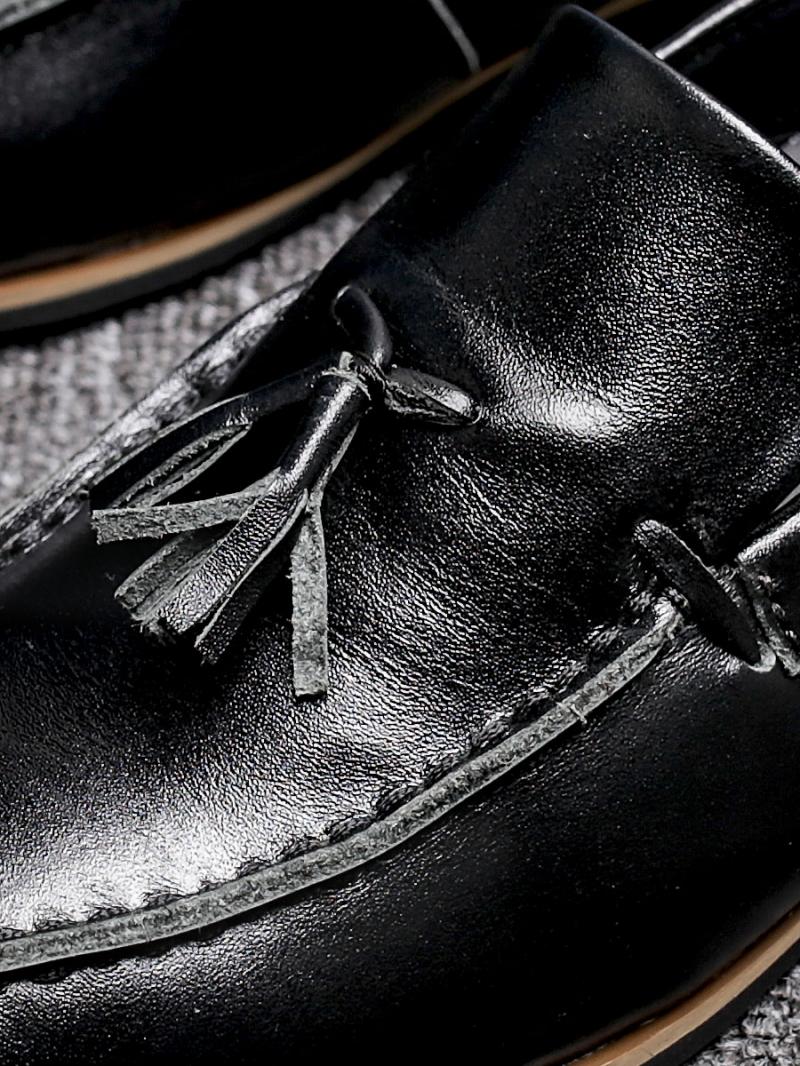 Giày mọi da đen g88 - 2