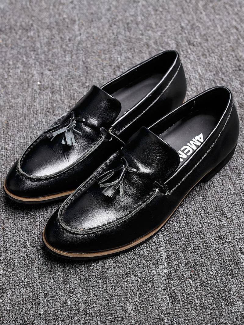 Giày mọi da đen g88 - 3