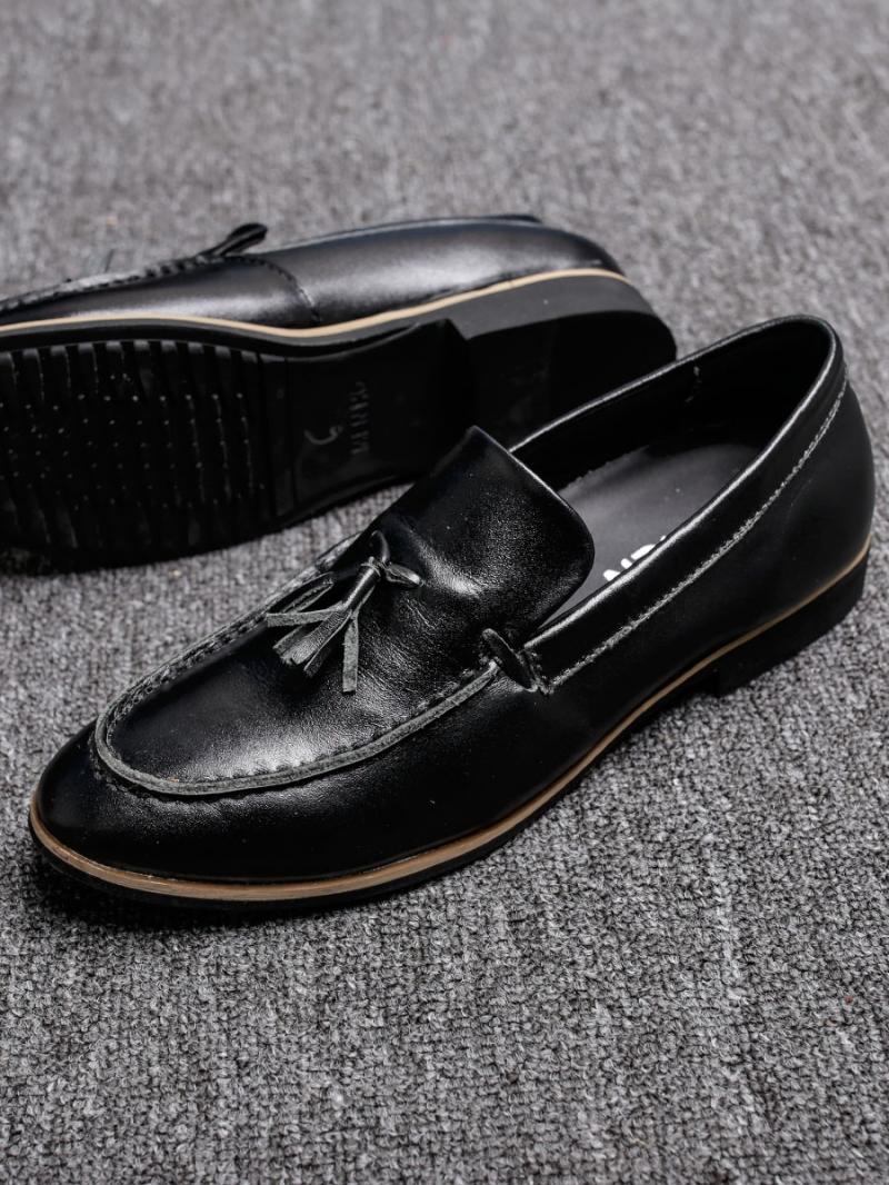 Giày mọi da đen g88 - 4