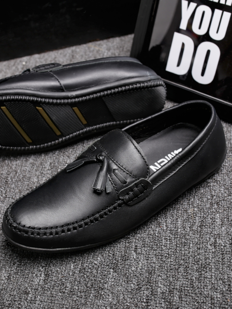 Giày mọi đen g86 - 2