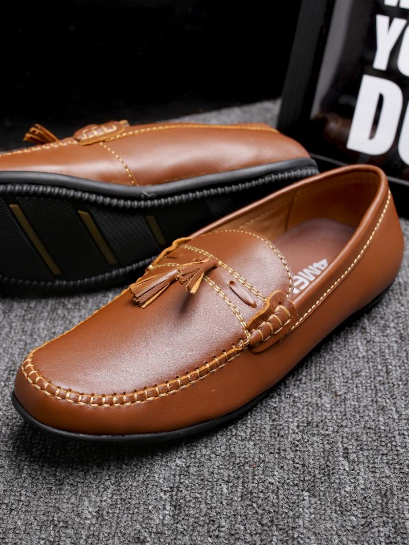 Giày mọi màu bò g86 - 4