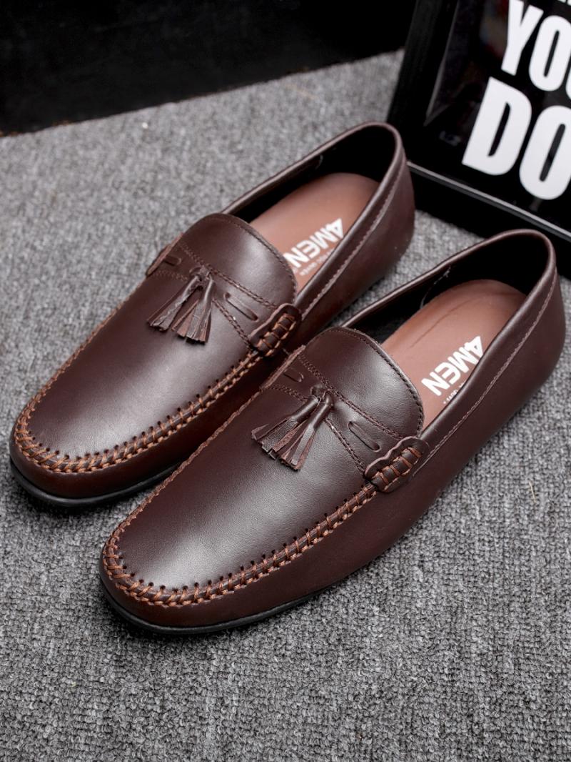 Giày mọi nâu g86 - 1