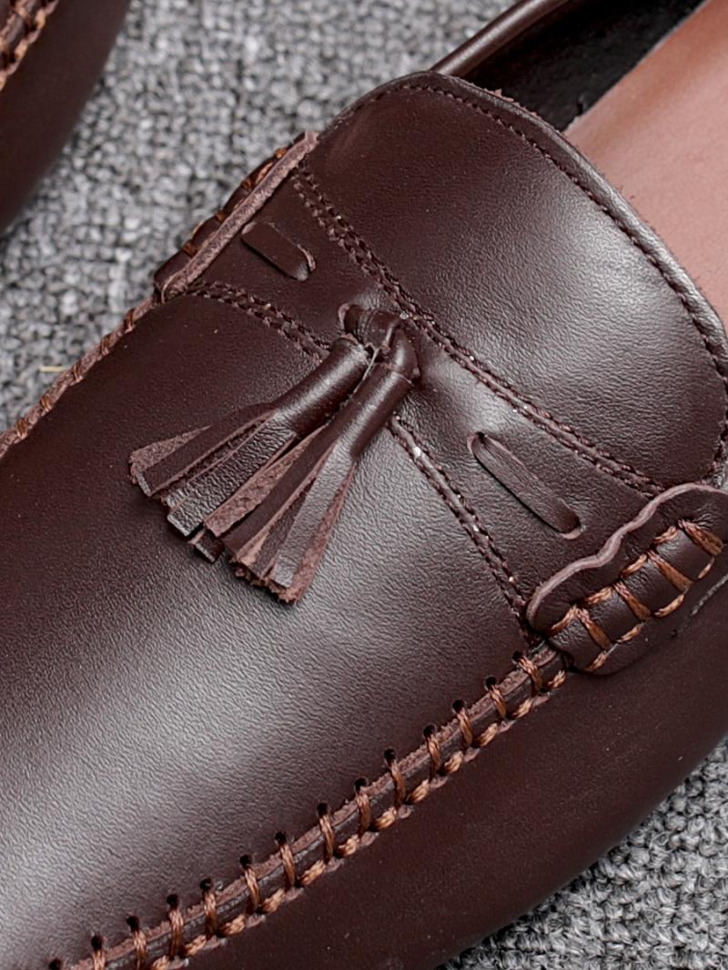 Giày mọi nâu g86 - 2