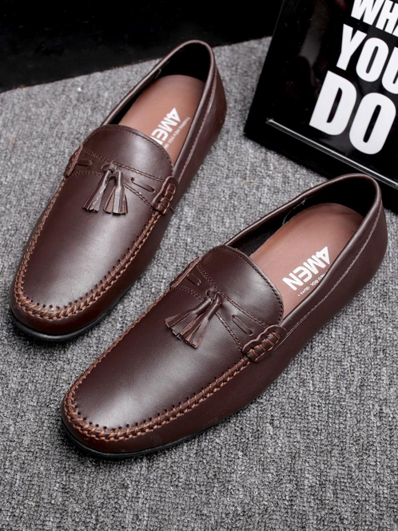 Giày mọi nâu g86 - 3