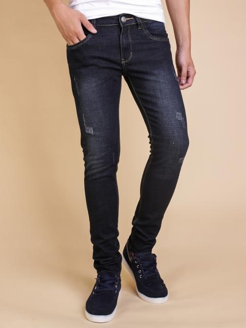 Quần jean skinny xanh đen qj1351 - 1
