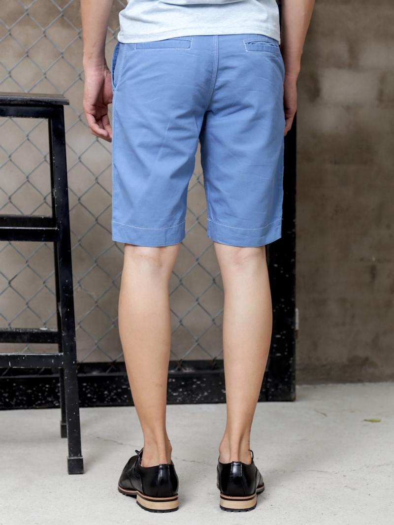 Quần short kaki xanh biển qs72 - 2