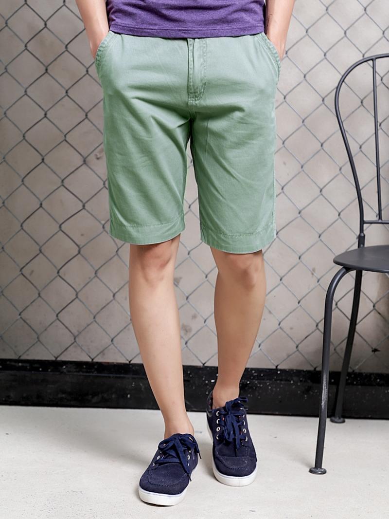 Quần short kaki xanh qs72 - 1