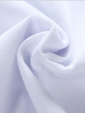 Áo thun cổ tim trắng trơn at604 - 3