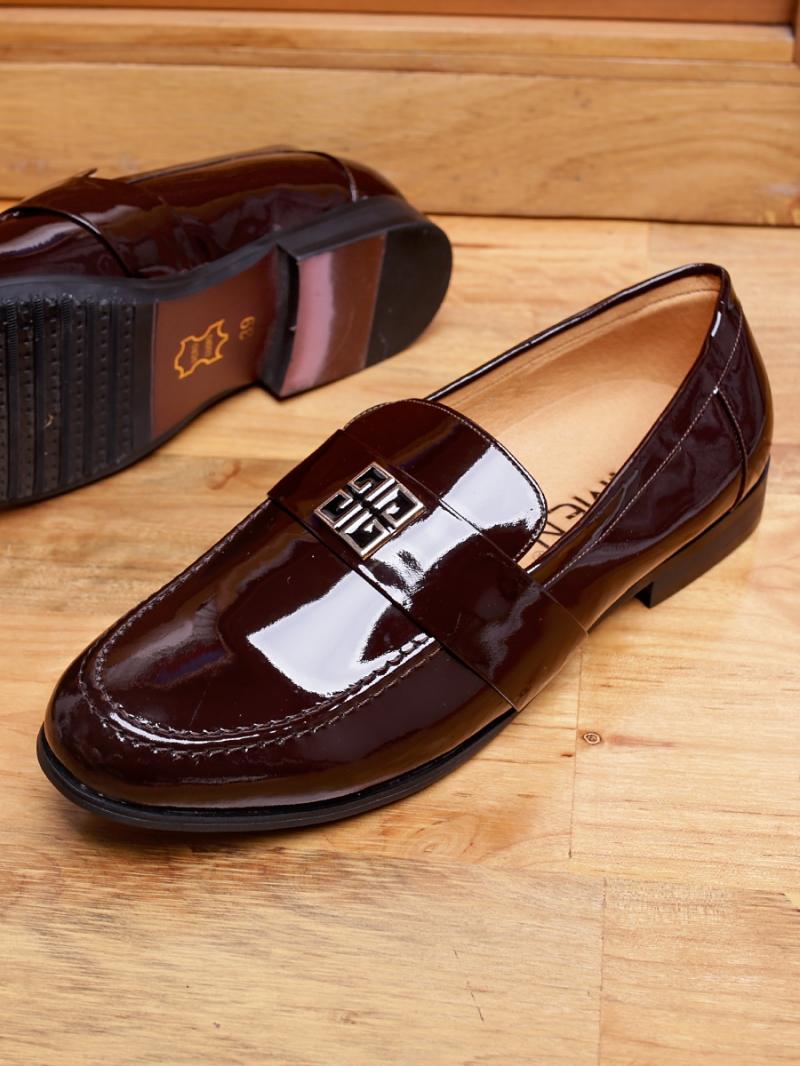 Giày tây da nâu g82 - 3