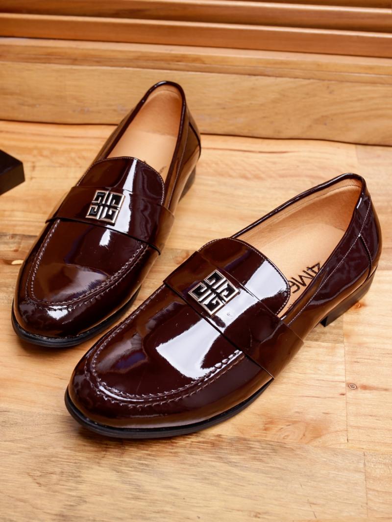Giày Mọi Da Nâu G82
