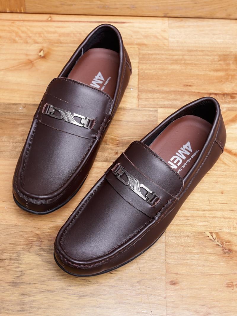 Giày mọi da nâu g89 - 1