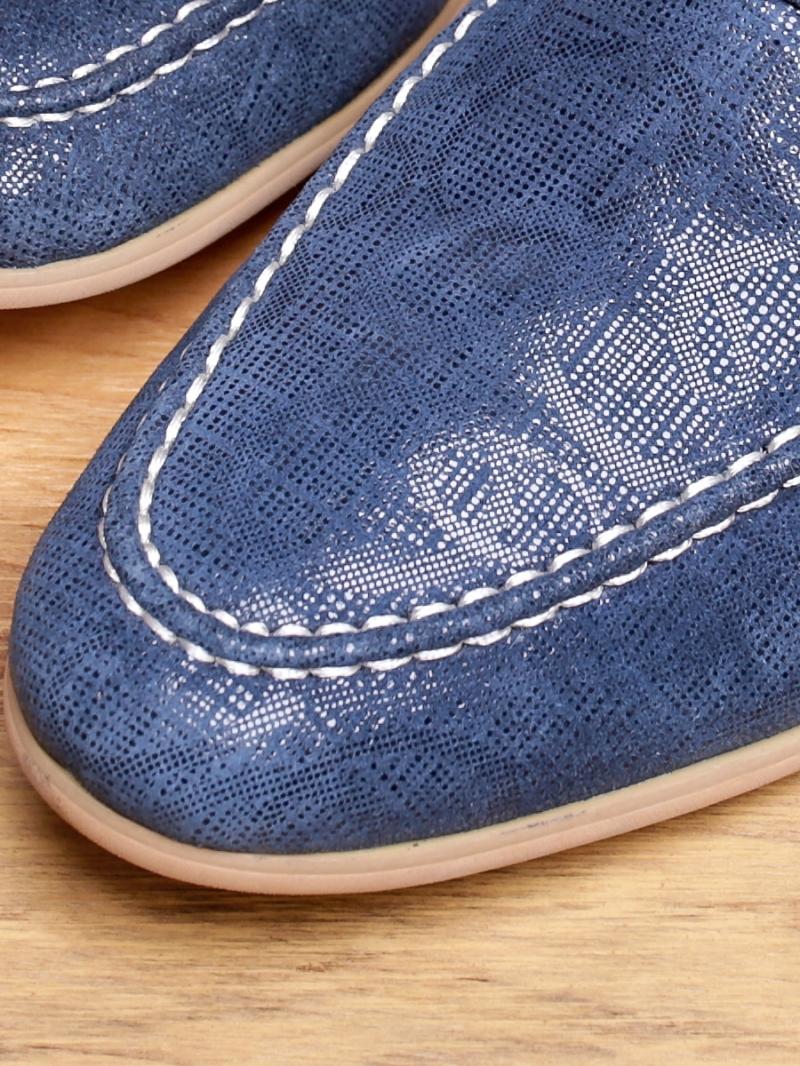 Giày mọi da xanh g94 - 2