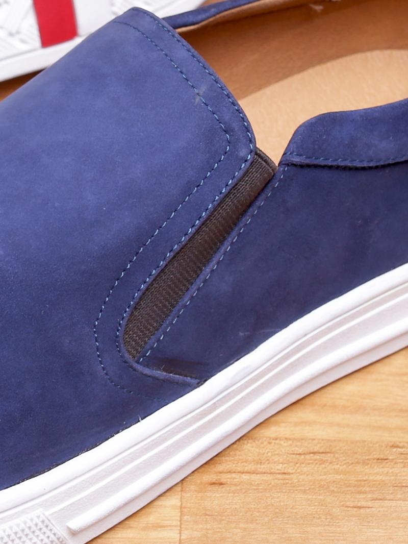 Giày mọi da lộn xanh g96 - 3