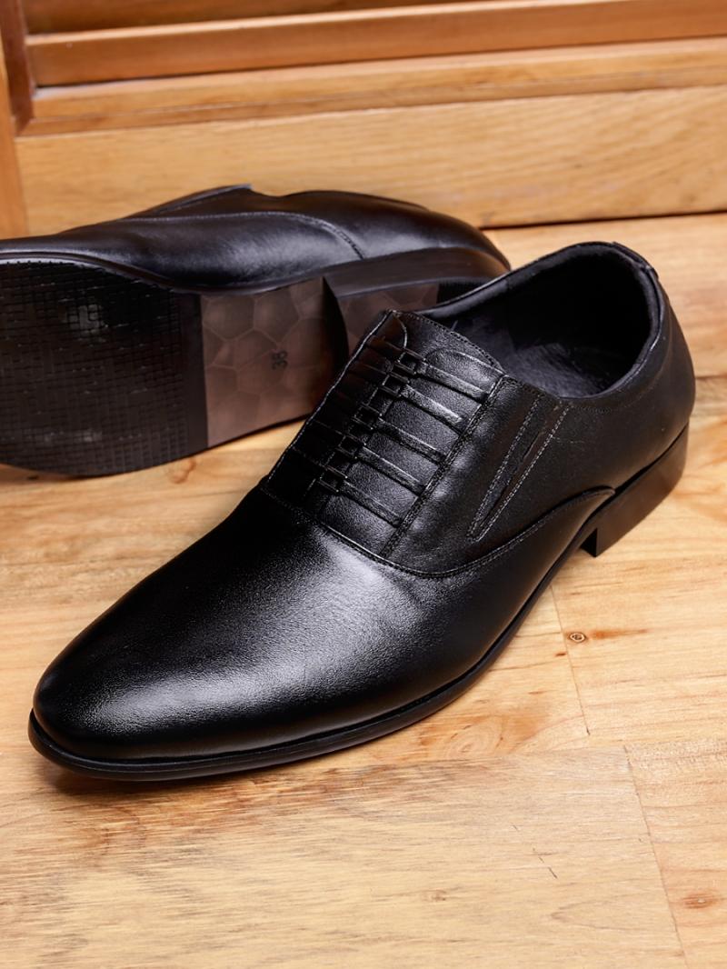 Giày tây da đen g99 - 3