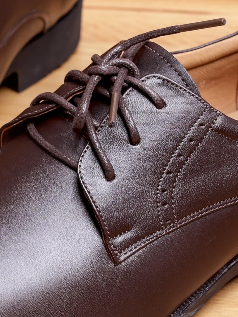Giày tây da nâu g85 - 3