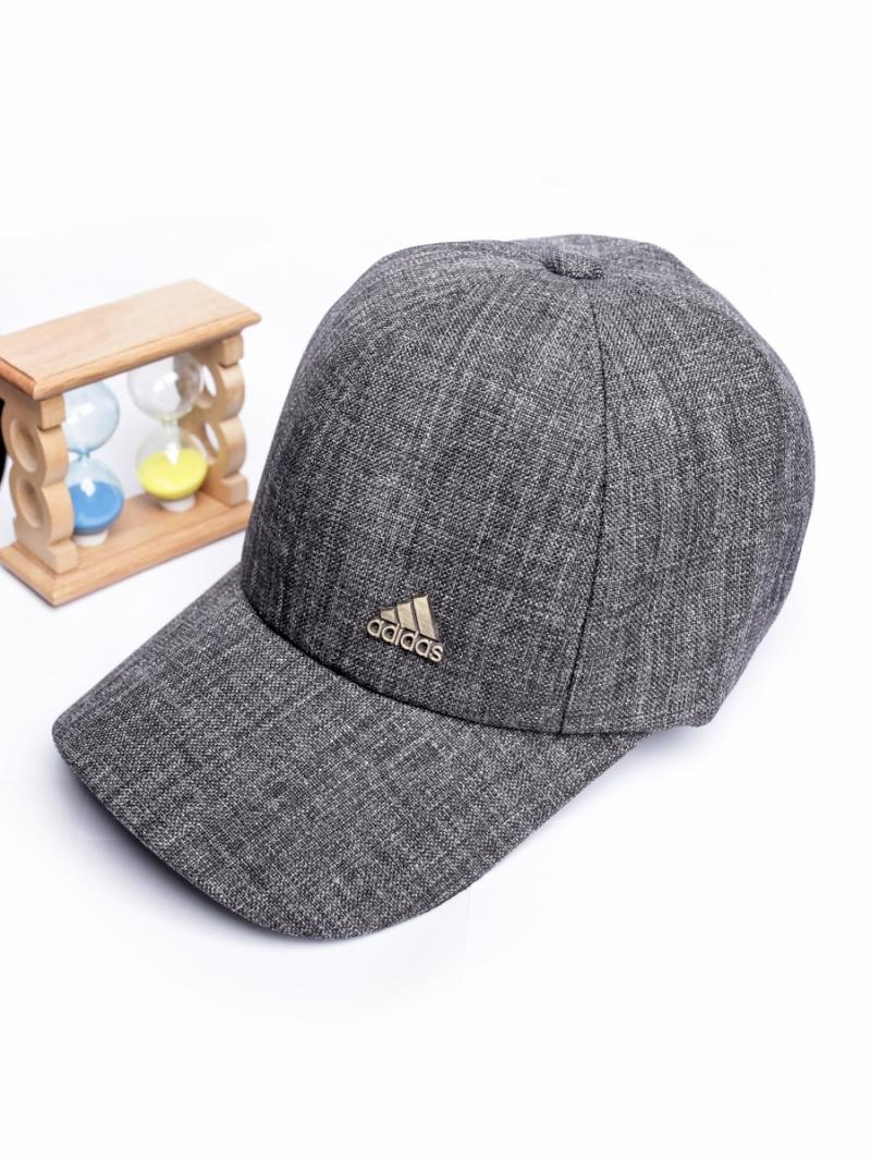 Nón Adidas Xám Chuột Đậm N259