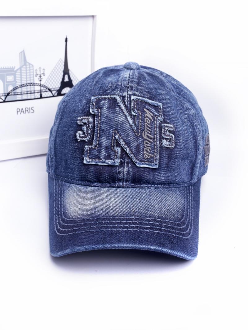 Nón jeans xanh đen n252 - 2