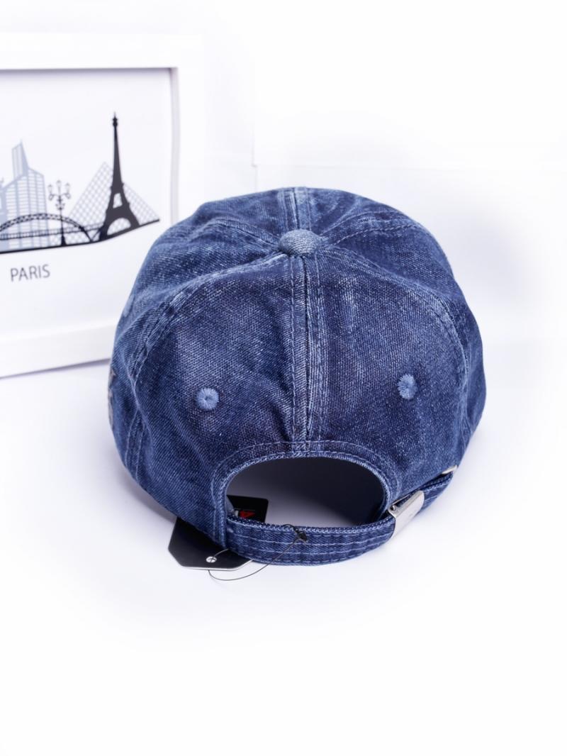 Nón jeans xanh đen n252 - 3
