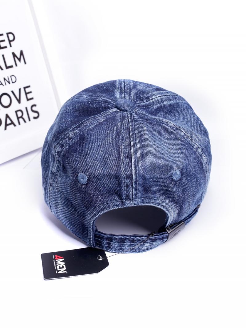 Nón jeans xanh đen n269 - 3