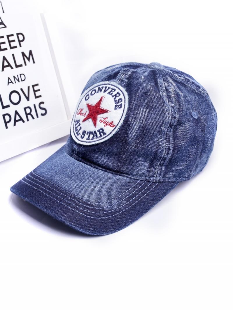 Nón Jeans Xanh Đen N271