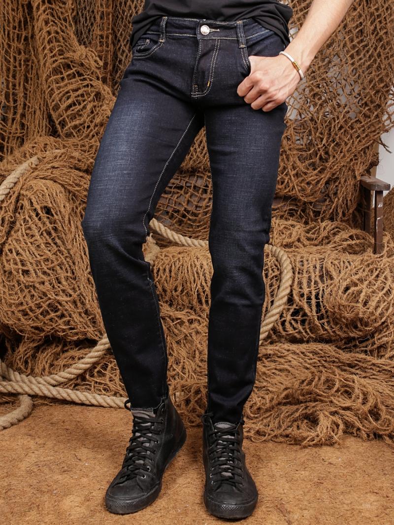 Quần jean skinny đen qj1359 - 1