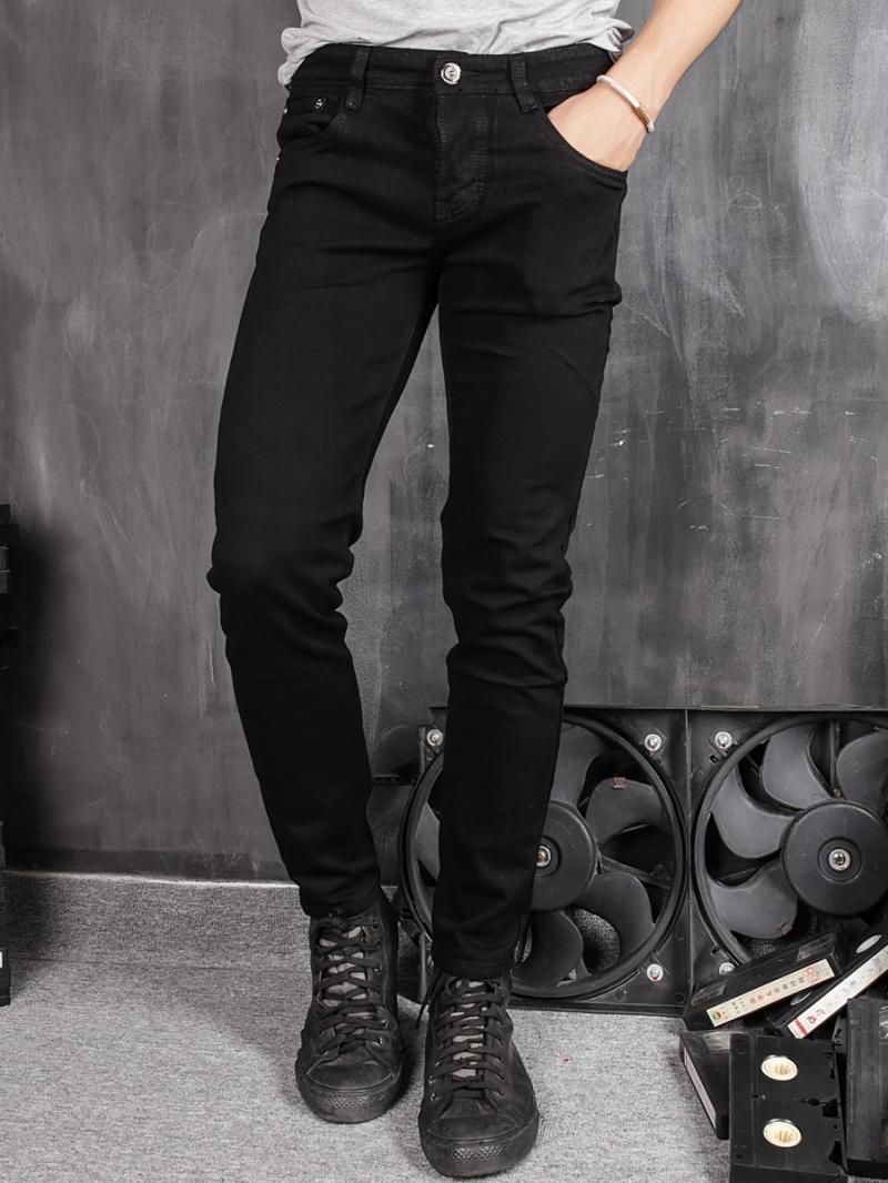 Quần jean skinny đen qj1369 - 1