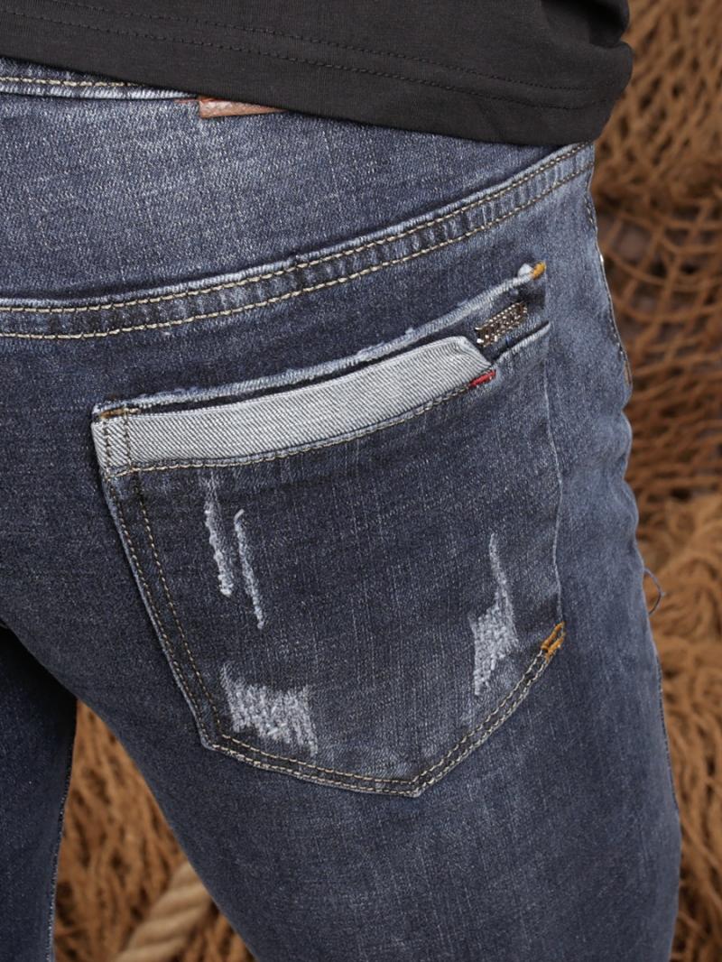 Quần jean skinny xanh dương đậm qj1362 - 2