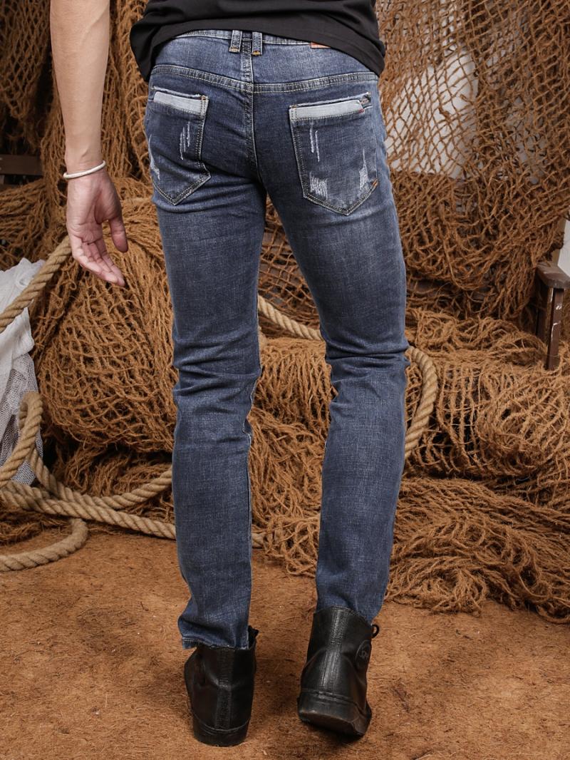 Quần jean skinny xanh dương qj1354 - 2