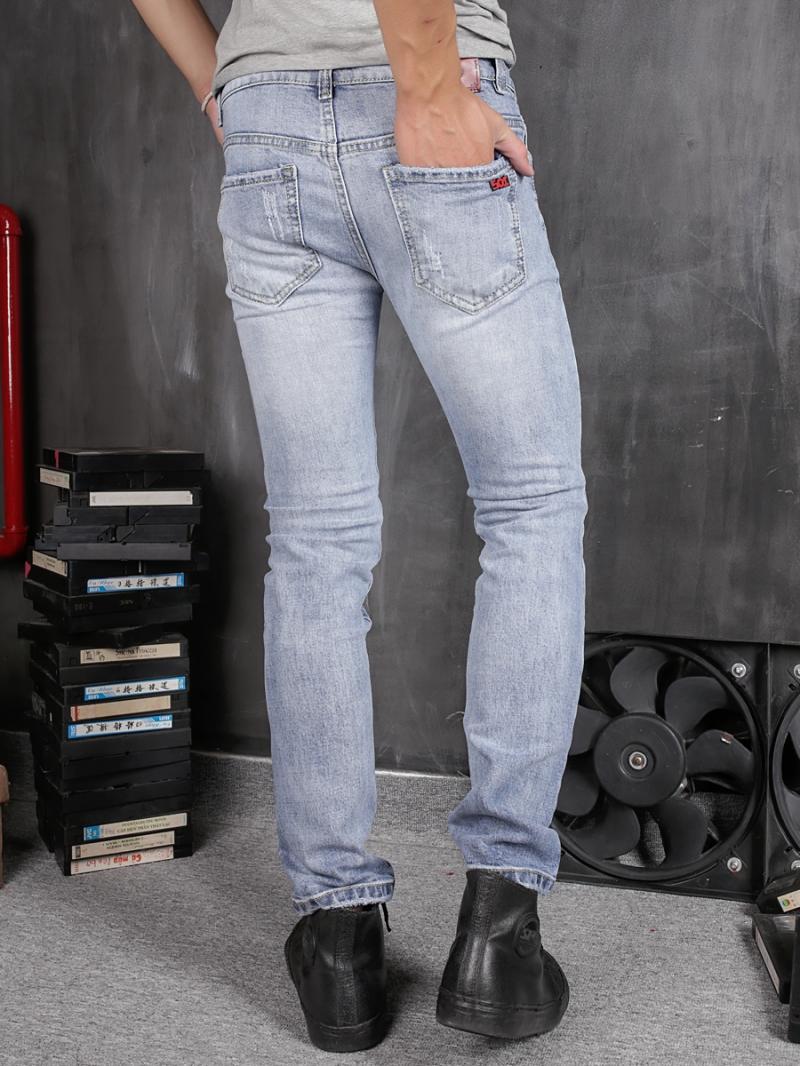 Quần jean skinny xanh qj1366 - 2