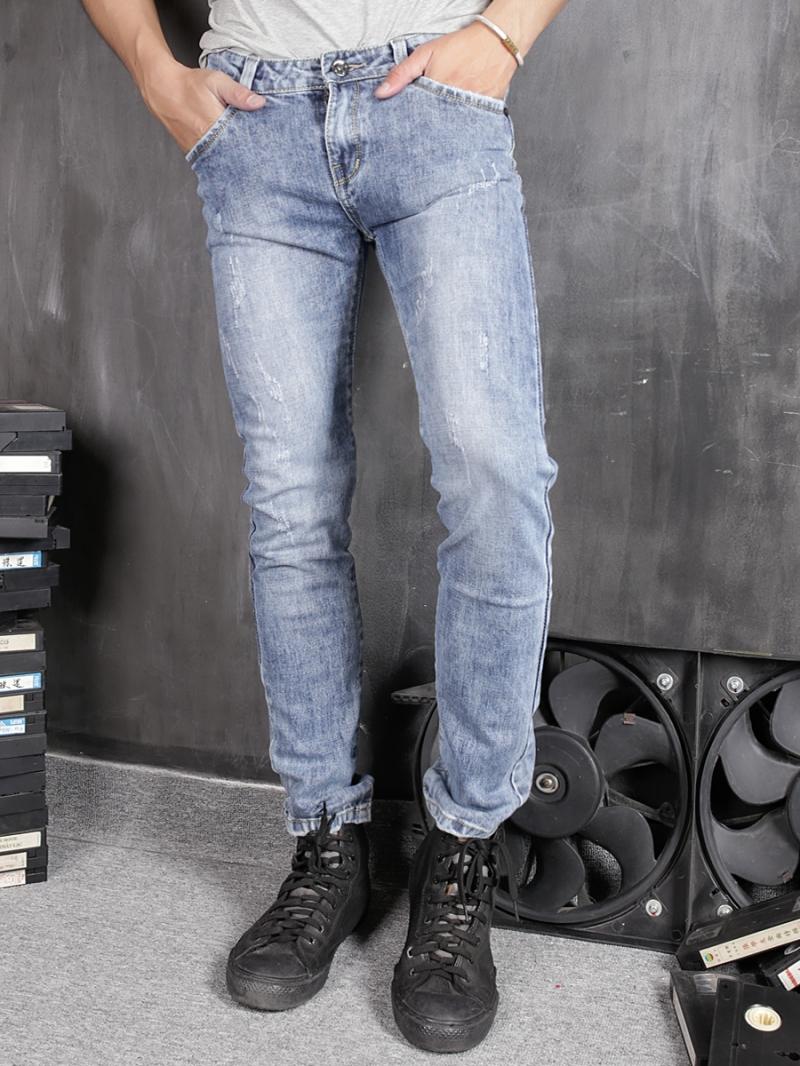Quần jean skinny xanh qj1367 - 1